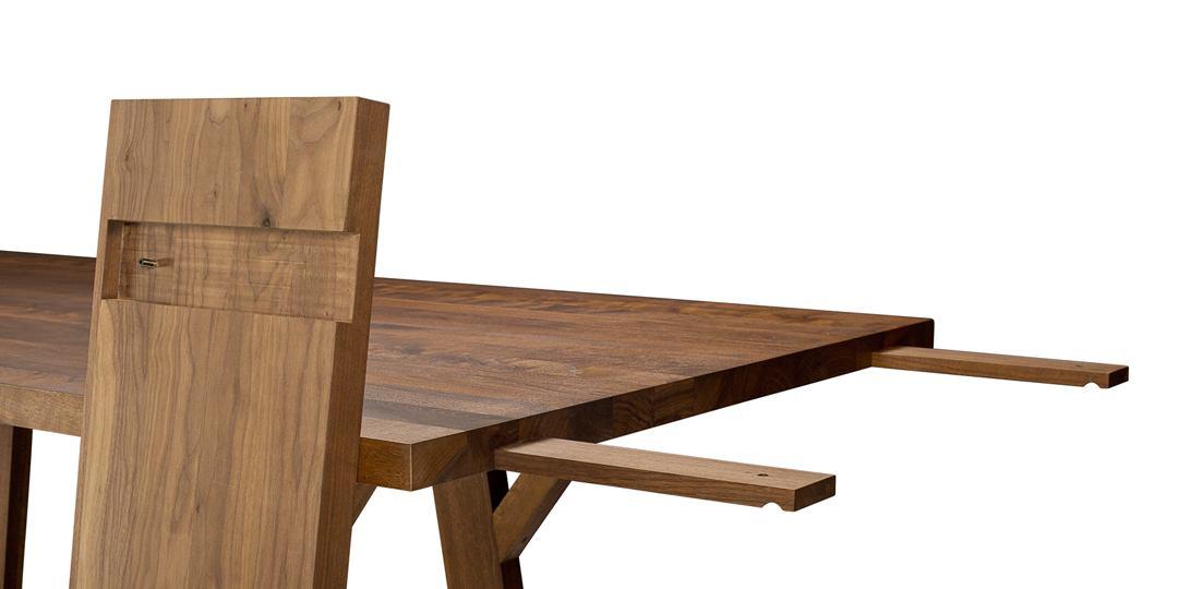 Table en bois massif Séquoia_détail