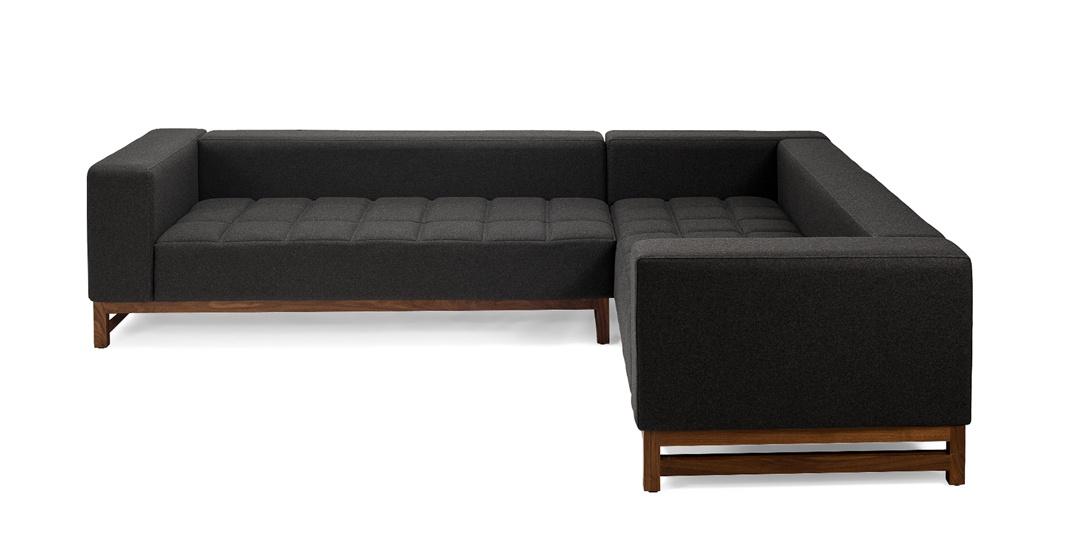 Sofa modulaire Cara, avec piqure basic